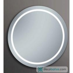 Espejo redondo led 60cms