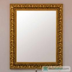 Espejo Marquetería dorado viejo